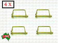 "4 x 8 mm 5/16"" Square Linch Lynch Pin Trailer Horse Float 4WD Camper Caravan"