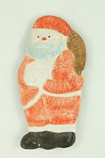 Vintage Italy Santa Dish Christmas Ornament Holiday Table Decoration