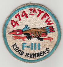 Wartime 474th Tactical Fighter Wing, F-111 Patch