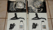 "NOS HAYES BRAKES MAG HD 8"" MTB DISC BRAKE 74mm F&R W/ BFL LEVER NEW HAYES BRAKES"
