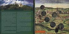 Slovakia Official Mint set 2006 Historical Places in Slovakia