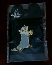 Disney Meeko Eating a Biscuit Fun Loving Raccoon from Pocahontas LE Pin Rare