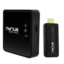Nyrius ARIES Prime Wireless Video HDMI Transmitter & Receiver for Streami... New