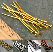 20mm,30mm,40mm,50mm,Eye Pin Flat Head Pin Ball Pin Jewelry Finding craft DIY D1B