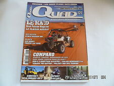 QUAD PASSION MAGAZINE N°127 01/2011 RZR-S CAN-AM RENEGADE XXC 700 RAPTOR   H34