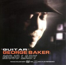 """Guitar"" George Baker Mojo Lady CD & DVD Fortress Bungalo Records 2006 Blues"