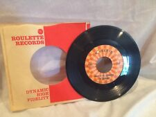 "The Detergents Leader of the Laundromat Ulcers 7"" Vinyl 45 Roulette 45 4590"