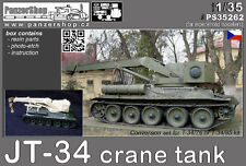 JT-34 Crane tank 1/35 PanzerShop PS35262 Academy T-34 conversion resin