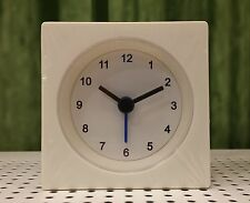 *NEW* IKEA / VACKIS / White Battery Operated Travel Alarm Clock