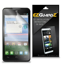4X EZguardz NEW Screen Protector Skin HD 4X For Alcatel OneTouch Sonic LTE A851L