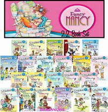 I CAN READ Fancy Nancy 22 Book Set Delectable Cupcakes,Pajama Day,Hair Dos ++NEW