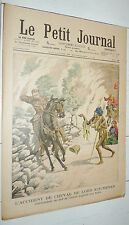 PETIT JOURNAL 1903 LORD KITCHENER INDES / ARMEE ARRIVEE RECRUES CONSCRITS