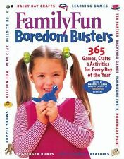 Family Fun Boredom Busters: 365 Games, Crafts & Activities - HC Book