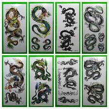 Wholesale 10 Packs Water Transfer Temporary Tattoos Body Art Dragon