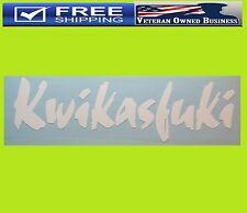 KWIKASFUKI DECAL STICKER VINYL Orient Kawasaki ZX10R ZX6R ZX9R ZX14R NINJA