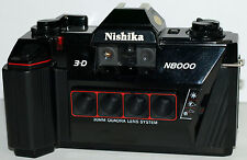 Nishika N8000 3D 35mm Point & Shoot Film Camera NEW