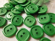 lot 24  boutons camaieu gris 4 trous couture mercerie diamètre: 1,6 cm