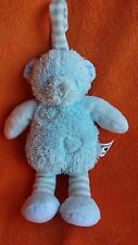 Bruin toys r us snuggle chums blue bear baby comforter soft toy