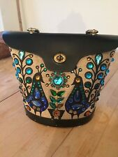 Enid Collins Jeweled Pavan Vintage Head Turning Handbag