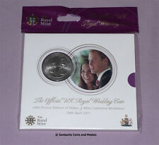 2011 ROYAL MINT SPECIMEN £5 CROWN - William & Catherine Wedding - MINT SEALED