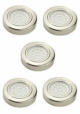 12V SURFACE MOUNTED OPTICAL COOL WHITE LED DOWNLIGHT 1.6w IP44 68mm Pack of 5