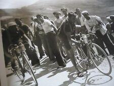 TOUR DE FRANCE 1936 PHOTO COL D' ALLOS MAES SYLVERE CREVAISON 9é ETAPE PROVENCE