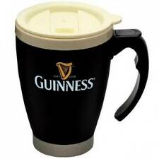 Guinness Thermal Travel Mug Small Cream Top Gold Harp Original Designs New