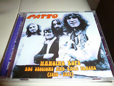 CD. PATTO.LIVE BBC SESSIONS 70/71+ 4 BONUS / HARD. PROG .JAZZ. NEUF