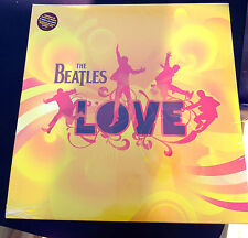 "THE BEATLES ""LOVE"" SOUNDTRACK CIRQUE DU SOLEIL  2 VINYL LP'S UK FIRST EDITION"