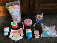 HELLO KITTY..great lot of 9 items !!! 3 new, other unusual items, purse +++