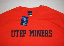 UTEP MINERS UNIVERSITY TEXAS EL PASO ADULT XXL T-SHIRT NEW WITH TAGS FREE SHIP