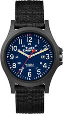 Men's Outdoor Watch | Blue Dial Black Strap | Timex Expedition Acadia TW4999900