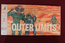 Vintage 1964 Outer Limits Board Game Milton Bradley Monsters, Aliens RARE  NICE