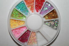 Nail Art Rhinestones Glitters Acrylic Tips Decoration Manicure Wheel