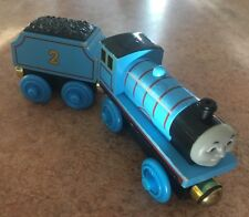 Authentic Learning Curve Wooden Thomas Train RFID Edward & Tender! Gold Magnets!