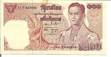 THAILAND, 100 BAHT,P#85a,  ND(1969-78)