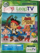 LeapFrog LeapTV Disney Jake and The Never Land Pirates Game fast free shipping