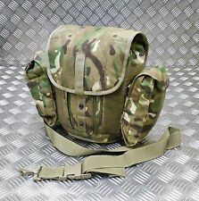 Genuine British Army Gas Mask Bag MTP Camo Field Pack / Respirator Case Molle
