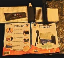 Camera Cleaning Kit with small Tripod and LCD screen Protector shield!