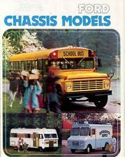 1975 Ford School Bus Sales Brochure wf8377-WCOB25