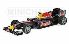 MINICHAMPS 100105 RED BULL RB6 F1 model race car Vettel 1st Abu Dhabi 2010 1:43