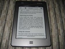 *Ads Free* Amazon Kindle Touch 4GB, Wi-Fi   3G, 6in, silver - Text-To-Speach #02
