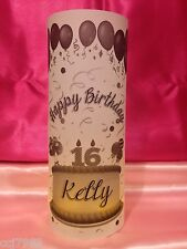 10 Personalized Birthday Cake Luminaries Table Centerpieces Party Decorations #1