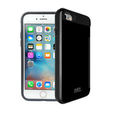 For iPhone Galaxy LG Ultra Slim Shockproof Hidden Card Holster Back Case Cover