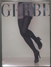 NEUF GERBE COLLANT WINTER CHOCOLAT TAILLE 2 RHOVYL'SOIE EN MAILLE JERSEY TIGHTS