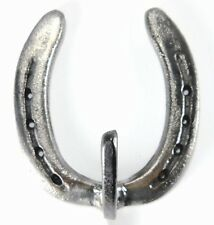 Natural Western Single Horseshoe Coat Hook Hat Tack Ranch Kitchen Bathroom Barn