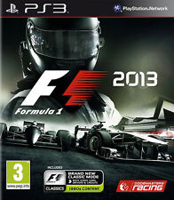 F1: Formula 1 2013 PS3 *in Excellent Condition*