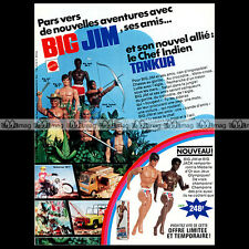 Mattel BIG JIM BIG JACK Gold Medal - 1976 Pub Publicité Action Figure Ad #A221