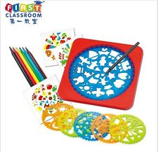 THE ORIGINAL CLASSIC SPIROGRAPH DESIGN SET IN COLLECTOR'S FRIST CLASSROOM