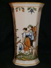 STUNNING RARE VILLEROY & BOCH COUNTRY LARGE CERAMIC HANDPAINTED VASE